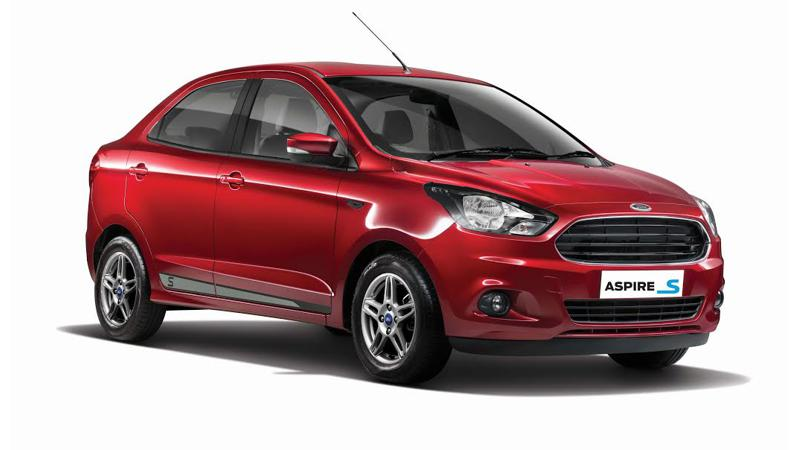 Ford Aspire Sports Edition: Top four highlights