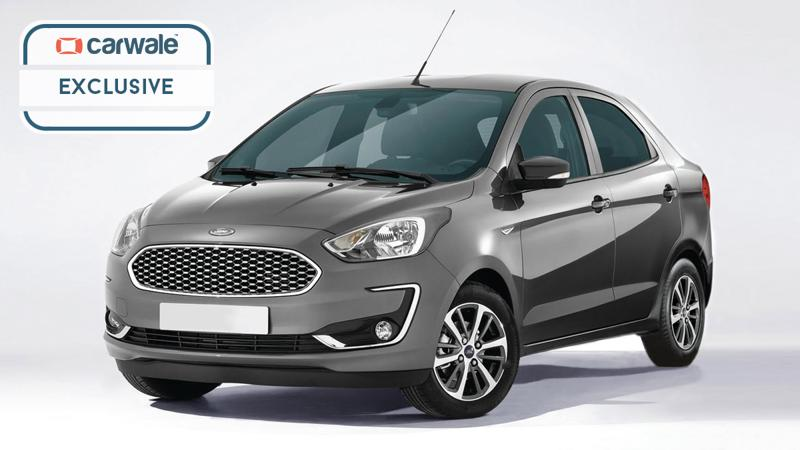 Upcoming Ford Aspire facelift rendered