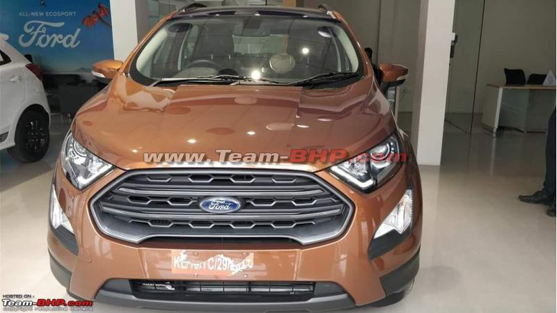 Details emerge for Ford EcoSport Titanium S and Signature editions