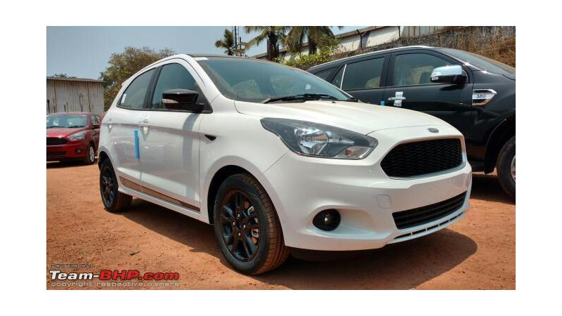 Ford Figo Sports variant spotted