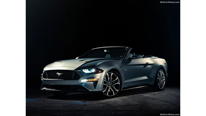 2018 Ford Mustang Convertible unveiled