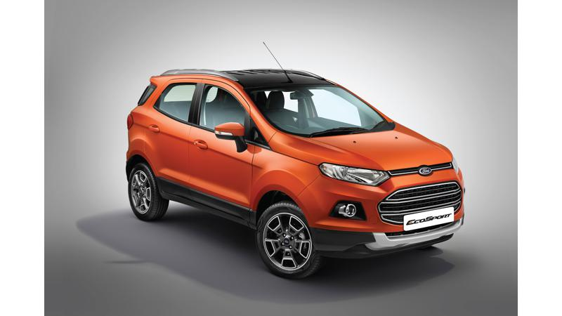 European Ford EcoSport production to move from India to Romania
