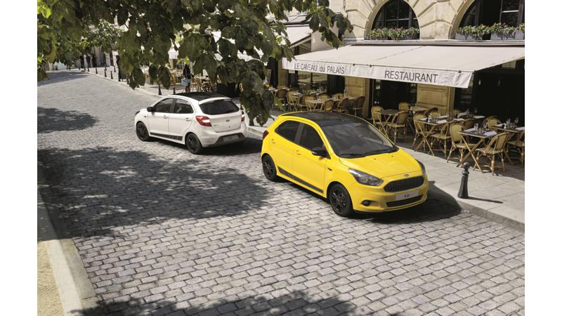 Ford Ka Plus gets body colour scheme in Europe