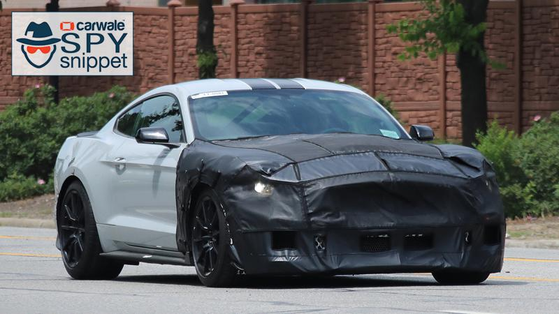 2019 Ford Mustang GT500 spied in US