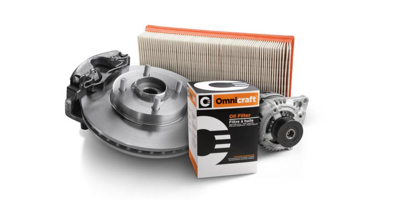 Ford's Omnicraft brand sells spare parts for all car brands