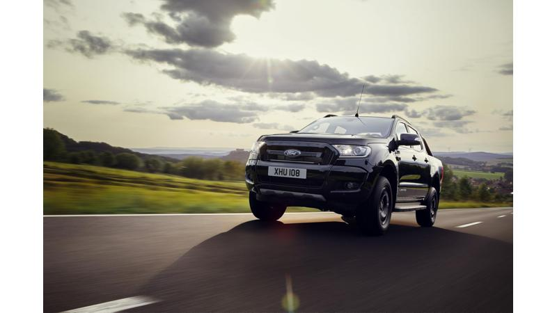Ford Ranger Black edition officially unveiled