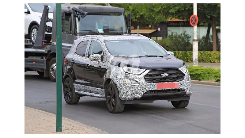 Ford EcoSport ST spied on test