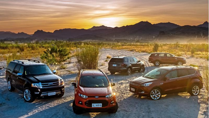 Ford flexes SUV muscle at Philippines Adventure Experience
