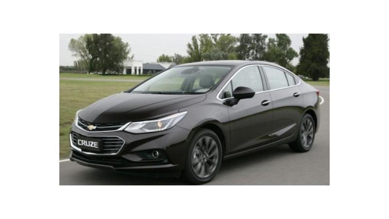 GM Brazil may launch new Cruze in November