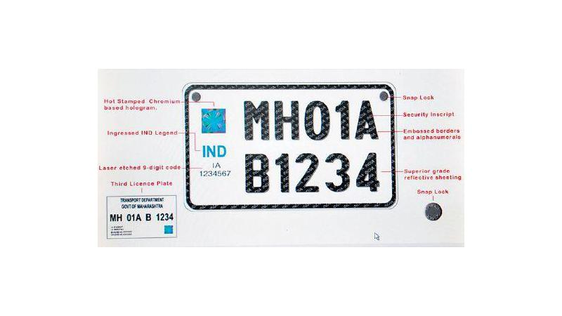 Vehicles to get high security registration plates from 1 January 2019