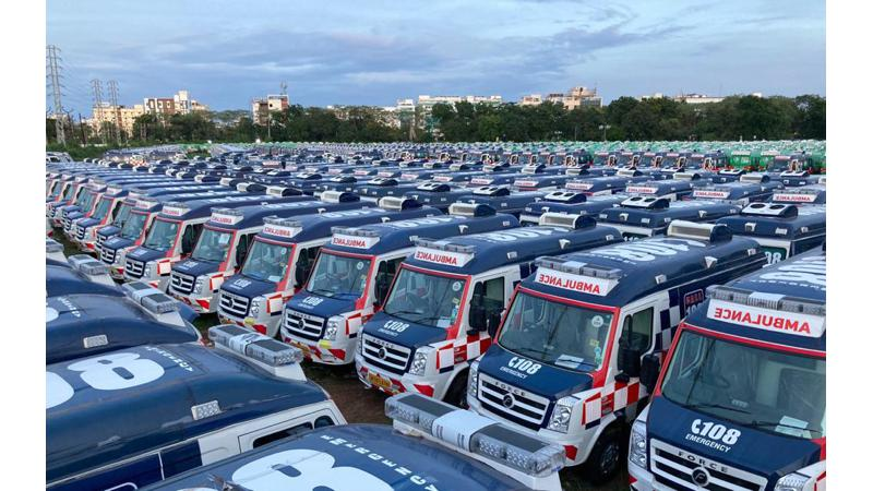 Force Motors supplies over 1,000 new ambulances for COVID-19 relief