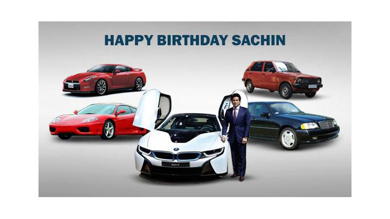 Top five cars owned by birthday boy Sachin Tendulkar