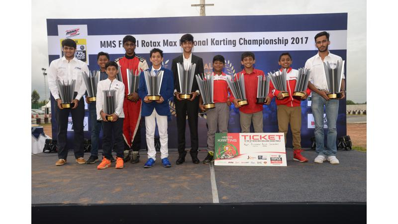 Winners of Meco Motorsports FMSCI National Rotax Karting Championship announced