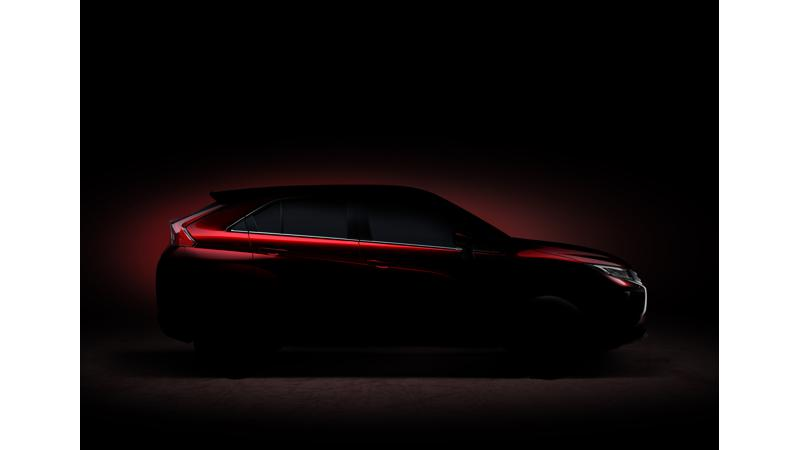 Mitsubishi teases its new compact SUV ahead of Geneva unveil