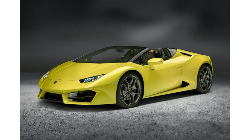 Lamborghini to launch the Huracan RWD Spyder in India on February 1