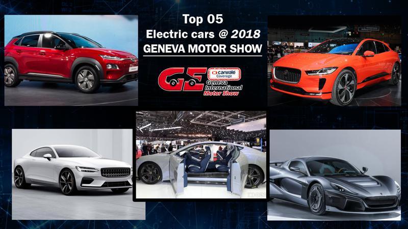 Top Five Electric cars showcased at 2018 Geneva Motor Show