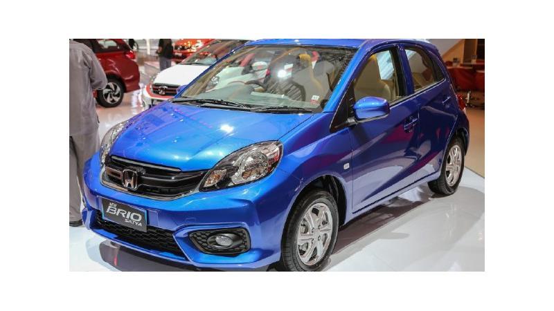 Honda Brio facelift and BR-V shown at 2016 Indonesia Auto Show
