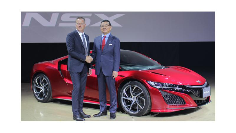 Honda Japan now accepts orders for the all-new Acura NSX