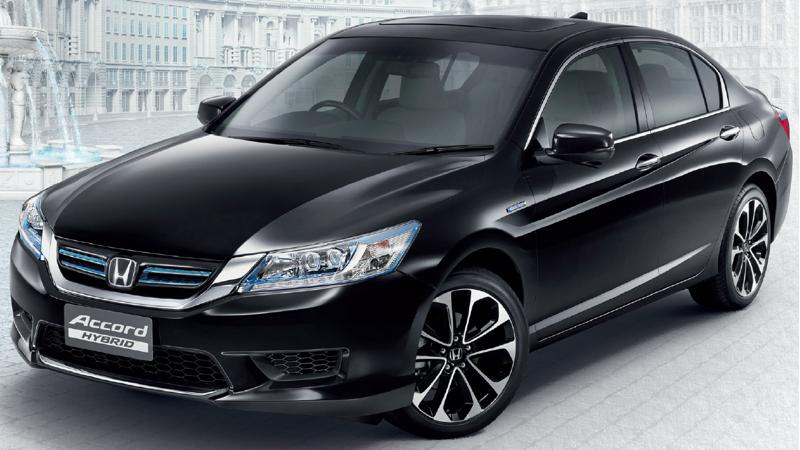 Honda cars in Thailand launches the Accord Hybrid