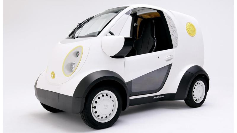 Honda unveils new micro car made using 3D printing technology