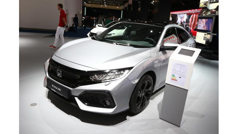 Frankfurt Motor Show 2017: Honda debuts Civic diesel