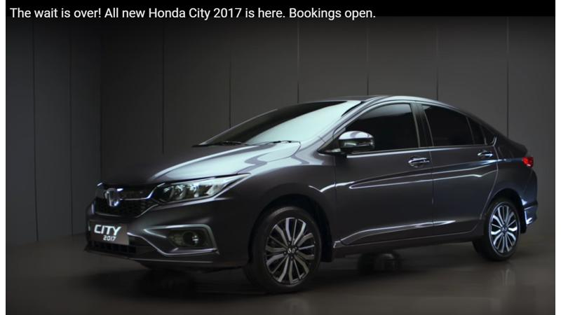 Honda starts teasing the City facelift ahead of launch