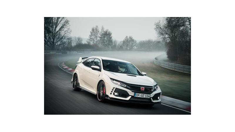 New front-wheel drive lap record at Nurburgring set by 2017 Honda Civic Type R
