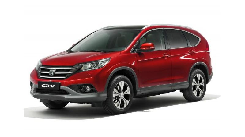 Honda CR-V battling it out with SsangYong Rexton in India
