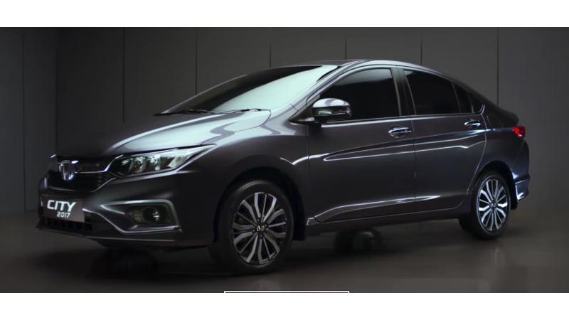 Honda to launch 2017 City in India tomorrow