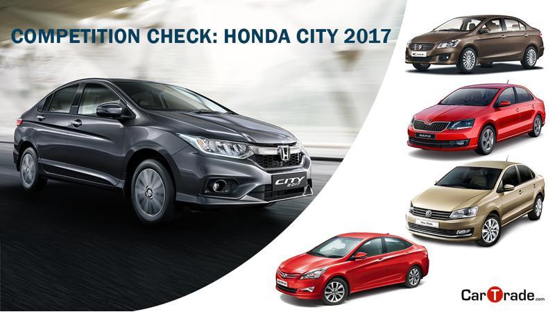 Competition Check: 2017 Honda City