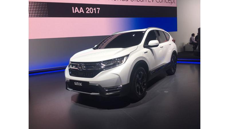Frankfurt Auto Show 2017: Honda reveals CR-V Hybrid