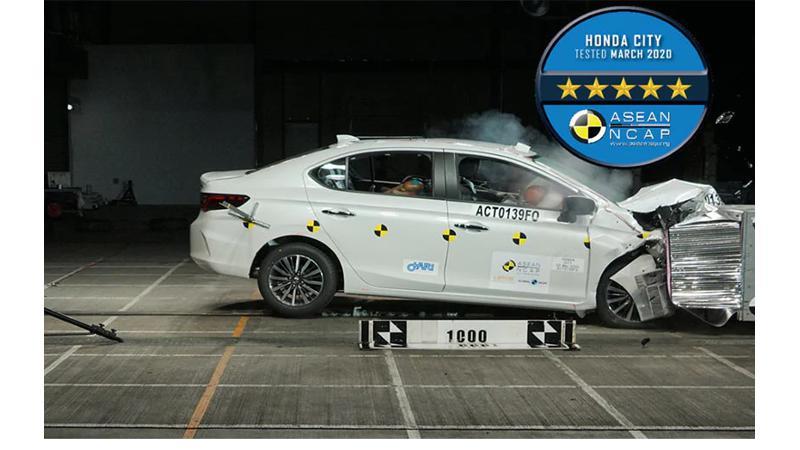 2020 Honda City earns five-star ASEAN NCAP safety rating