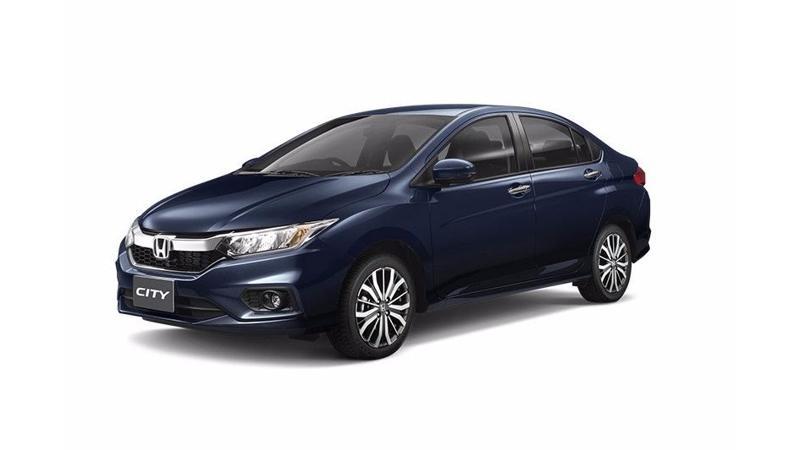 Honda City facelift ZX variant spotted at dealership