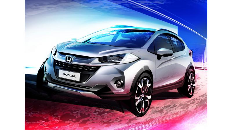Design sketches of Honda WR-V revealed