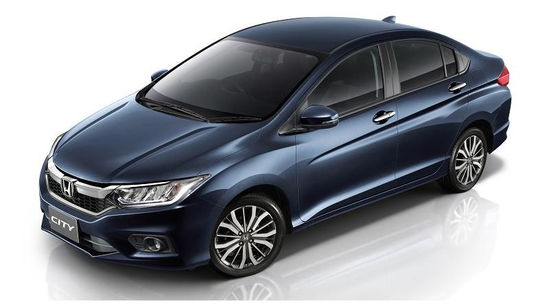 Honda City facelift - variants explained