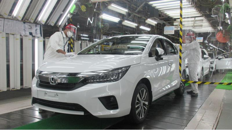 Honda Cars India begins production of the new Honda City