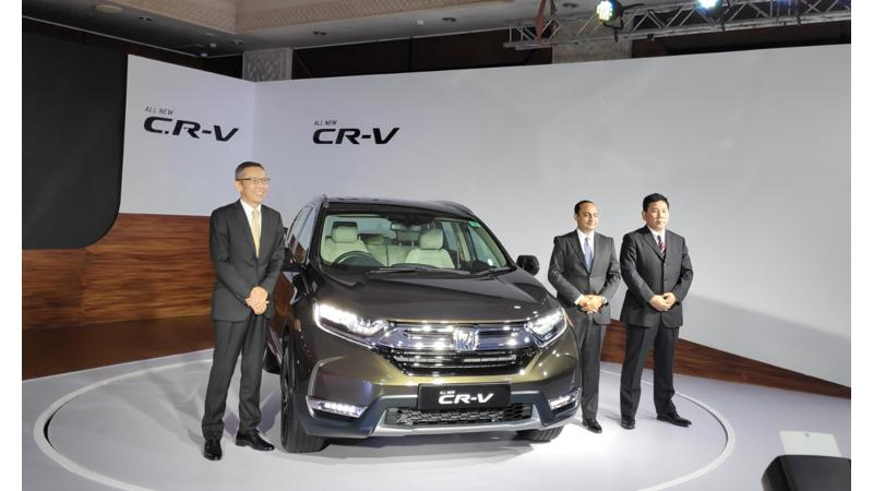 Honda launches all new CRV at Rs 28.15 lakhs