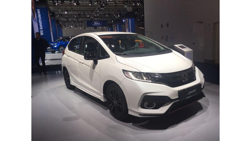 Frankfurt Auto Show 2017: Updated Honda Jazz unveiled