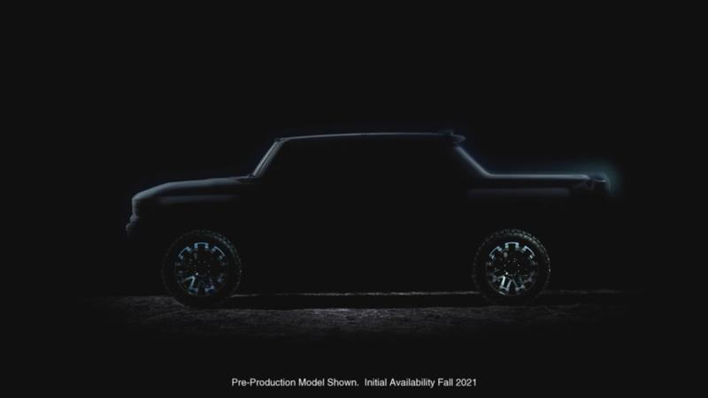 Electric Hummer teaser image released ahead of September launch
