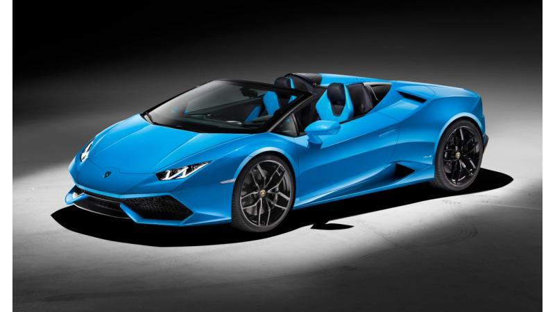 Huracan Spyder to launch on 5th May in India