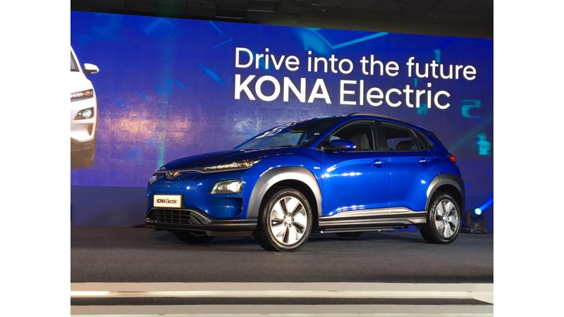 Hyundai Kona electric vehicle launched in India at Rs 25.30 lakhs