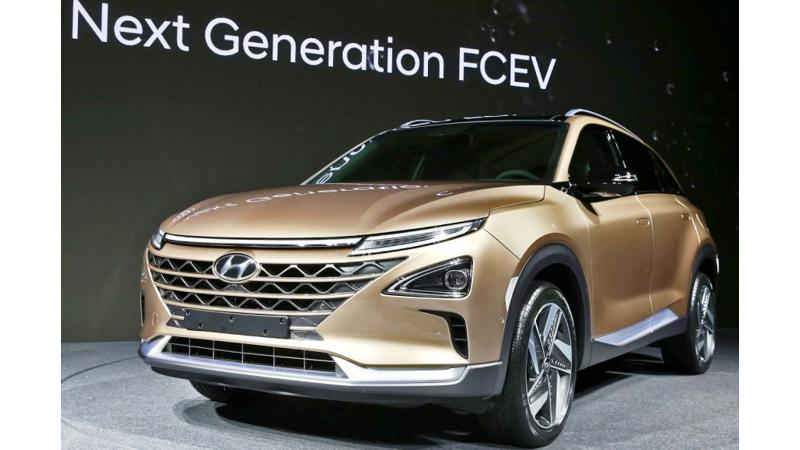 Next generation Hyundai Fuel Cell SUV showcased