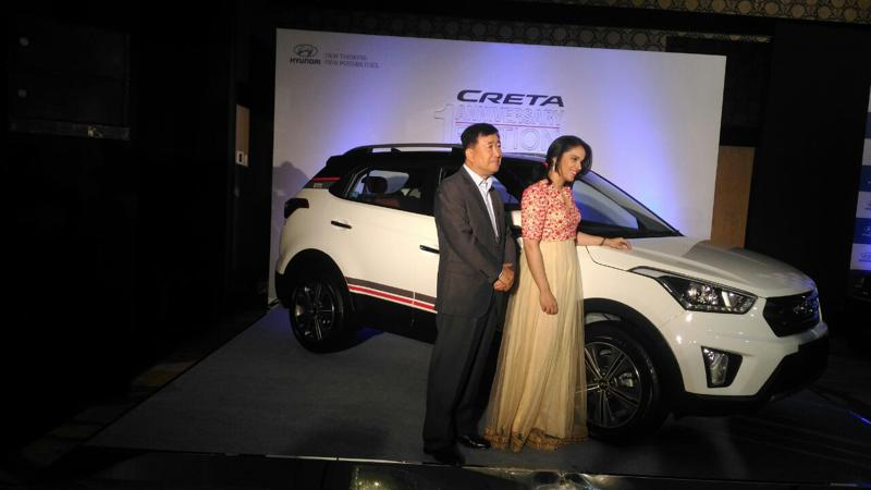 Hyundai Creta anniversary edition unveiled; prices announcement on August 1