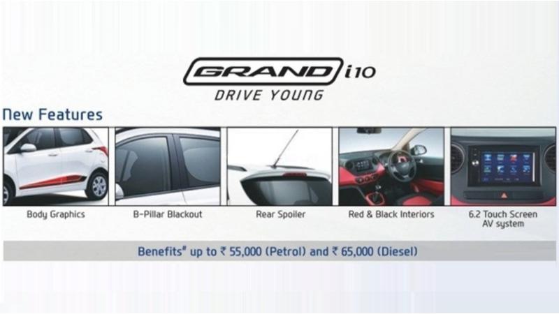 Hyundai takes wraps off the Grand i10 Anniversary edition