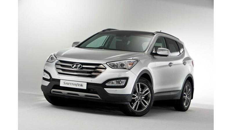 Hyundai Santa Fe facelift to be unveiled during the 2014 Auto Expo
