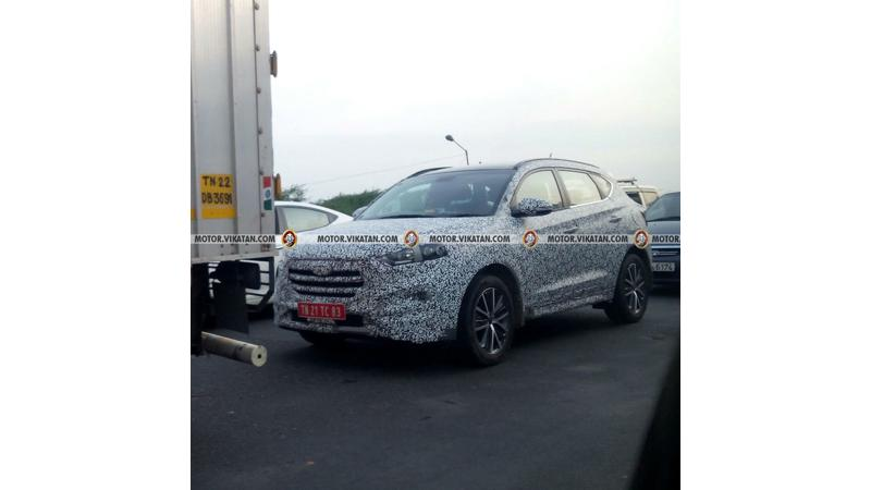 Hyundai Tucson spotted testing ahead of launch later this year