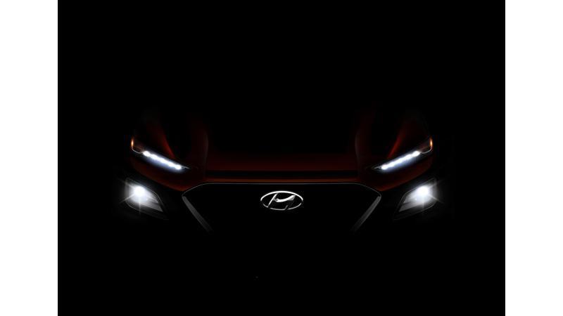 Hyundai teases new Kona compact SUV