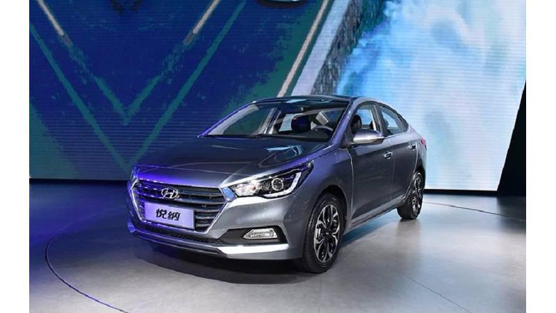 India-bound new 2017 Hyundai Verna debuts in China