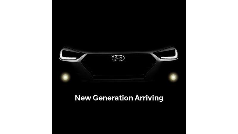 2017 Hyundai Verna teased