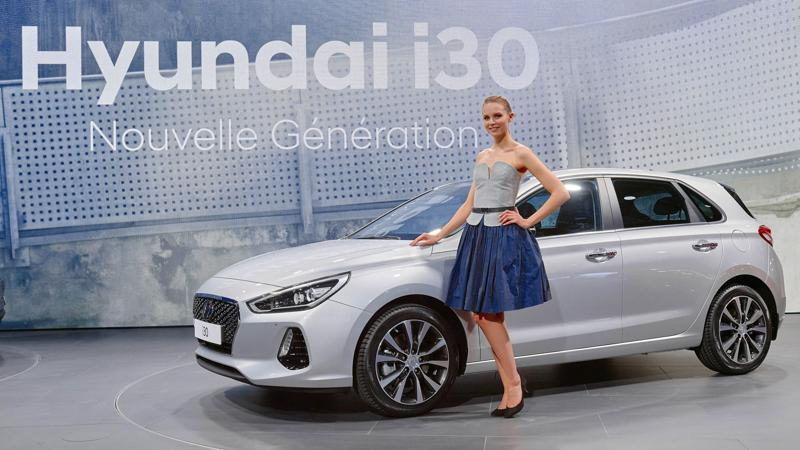 Hyundai premiers the i30 at the 2016 Paris Motor Show